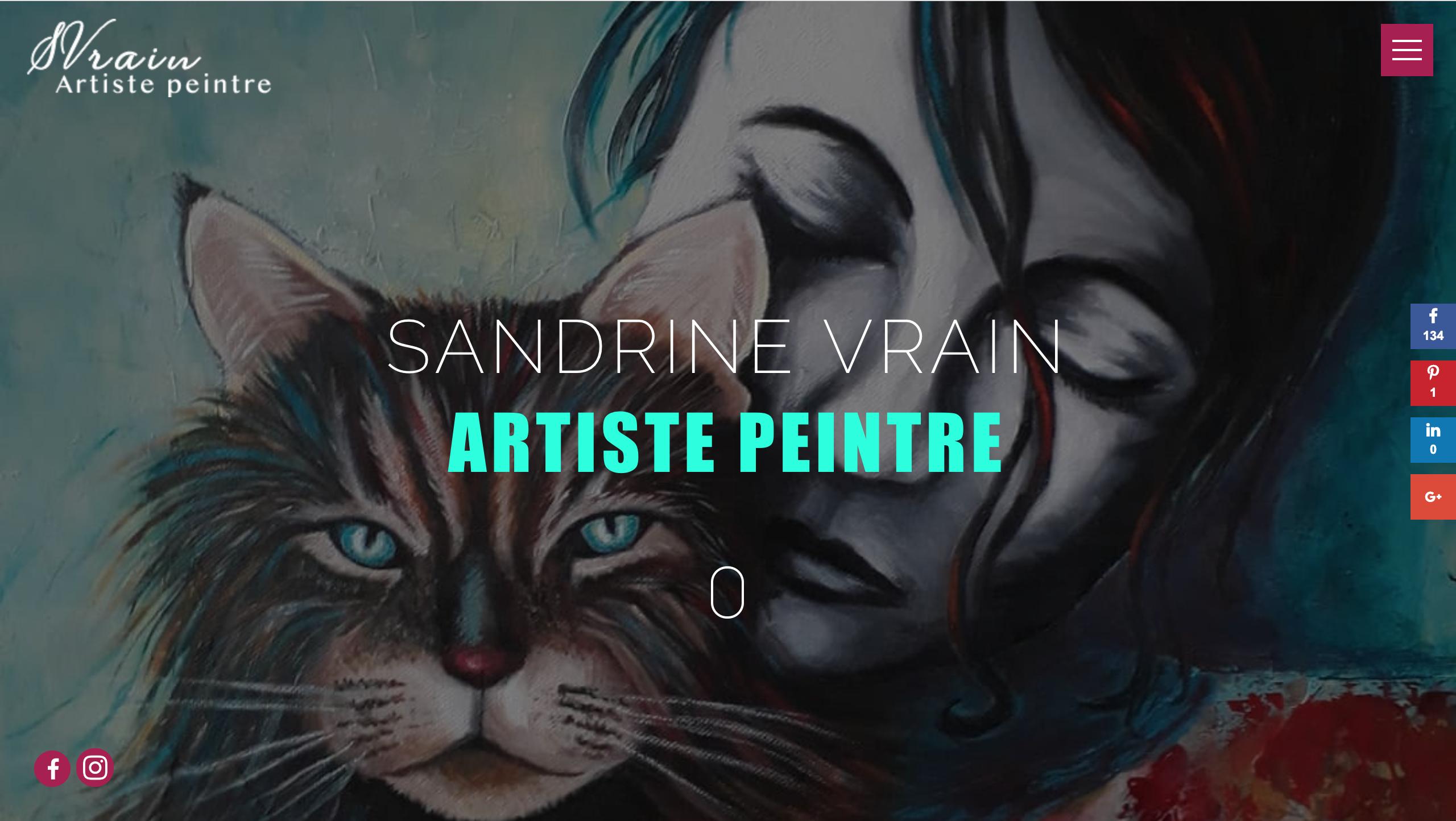 Site Des Artistes Peintres svrain - artiste peintre - franck piazza - chrysalid.eu